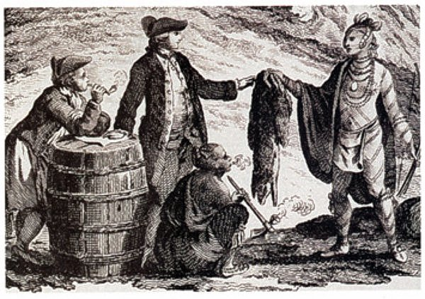 4th of July fashion fur trade history