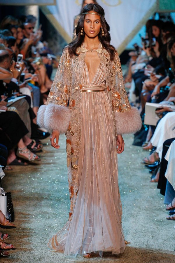 Elie Saab Haute Couture Fall 2017 luxury fashion