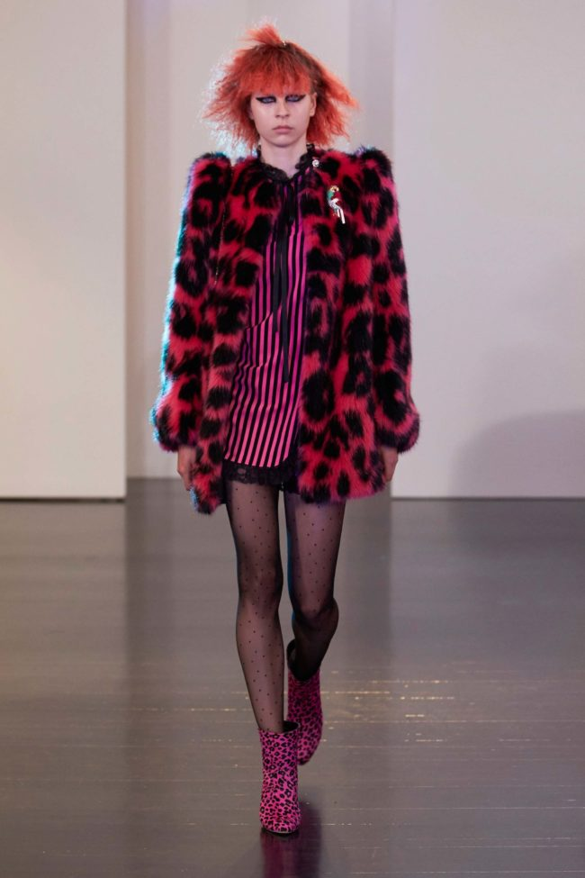 Marc Jacobs Resort Fall 2017 Faux fur