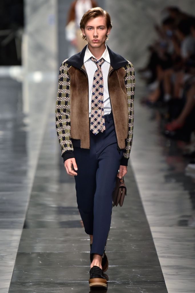Luxury fashion Fendi Men's Spring 2018