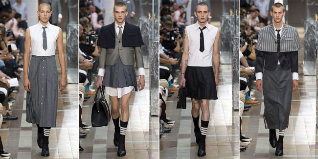 Thom Browne Men's Spring/ Summer 2018