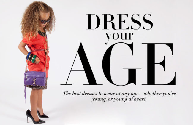 "what exactly does ""age appropriate dressing"" mean?  Who gets to decide what ""age appropriate style"" is all about?"
