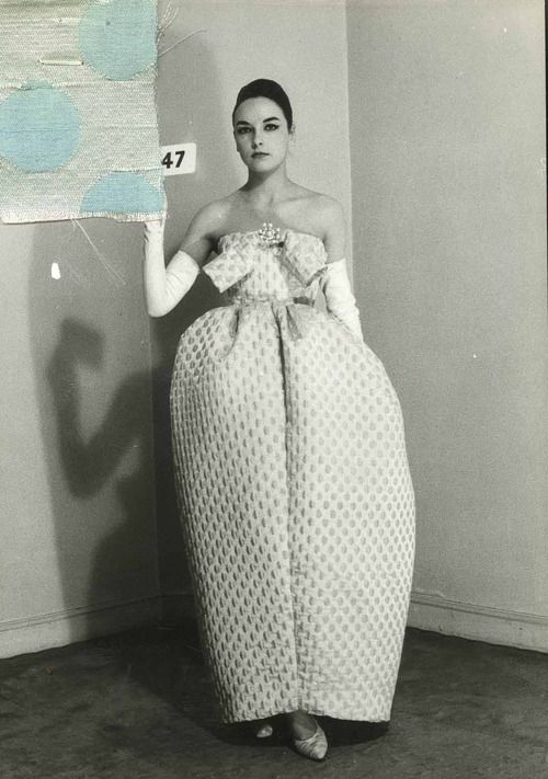 Amphora dress by Cristobal Balenciaga Summer 1959