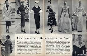 balenciaga vintage couture