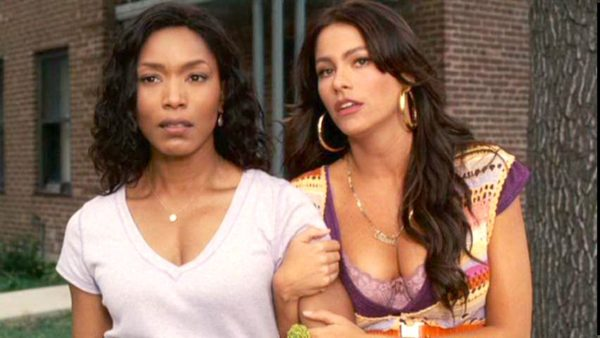 Cheryl (Sofia Vergara) and Brenda (Angela Bassett) in TYLER PERRY'S MEET THE