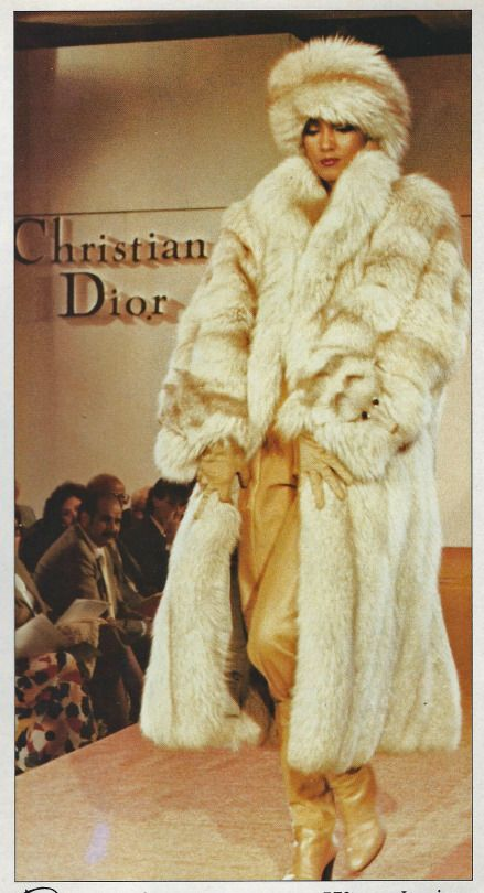 Christian Diro runway 1979 last solar eclipse inspired