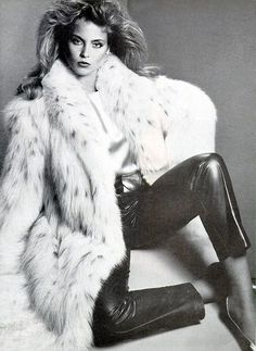 The Love of Fur Campaign from 1979 solar eclipse fashion