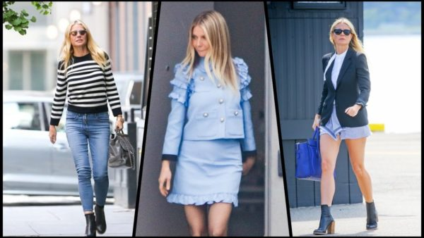 Gwyneth Paltrow's Street Style - 2017 age appropriate style