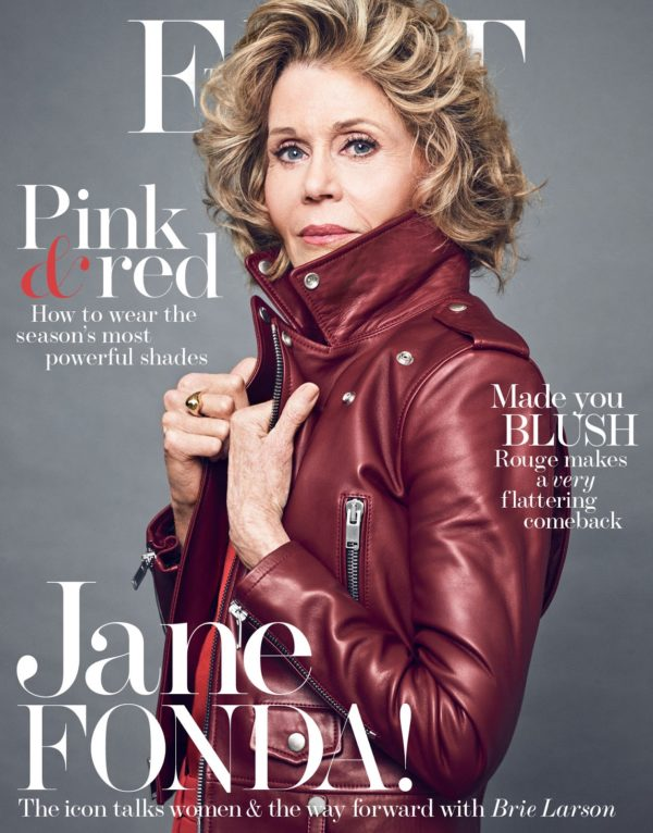 Jane Fonda on the cover of The Edit March 2nd 2017 Age appropriate style