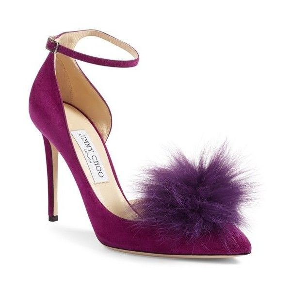 furry footwear Jimmy Choo Summer 2017