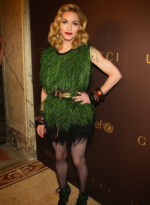 Iconic style. Madonna in age appropriate style