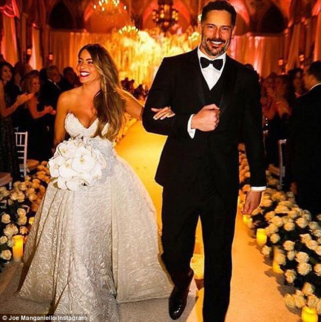 Sofia Vergara married Joe Manganiello in November 2015