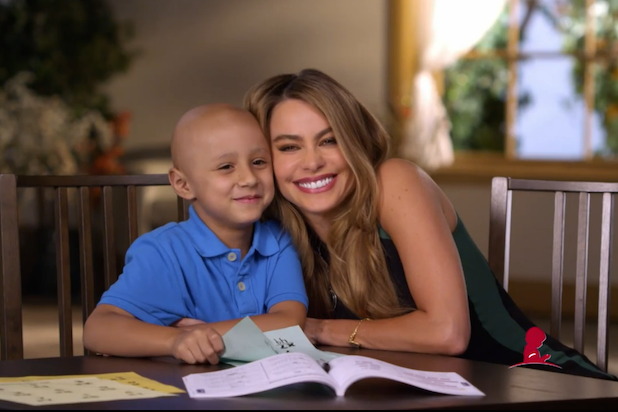 Sofia Vergara Raises Awareness for St. Jude's 'Thanks and Giving' Campaign