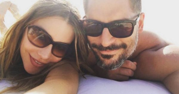 Honeymoon photo shared by the couple in 2015 Sofia Vergara