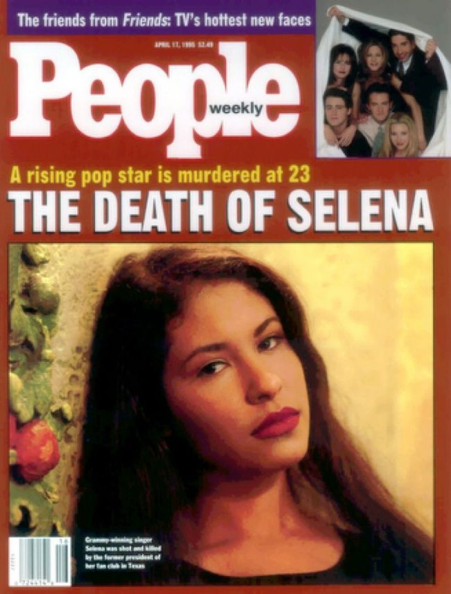 Selena Gomez was named after Selena Quintanilla