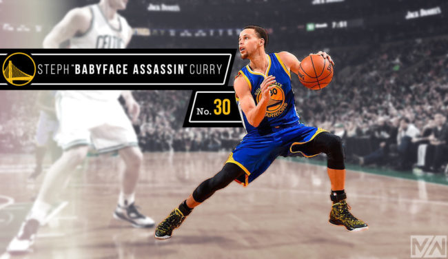 "NBA superstar Stephen Curry a.k.a the ""Baby faced Assassin"" could share the nickname with Selena Gomez"