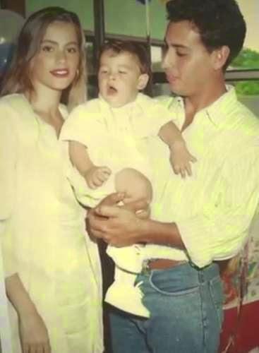 Sofia Vergara and newborn son