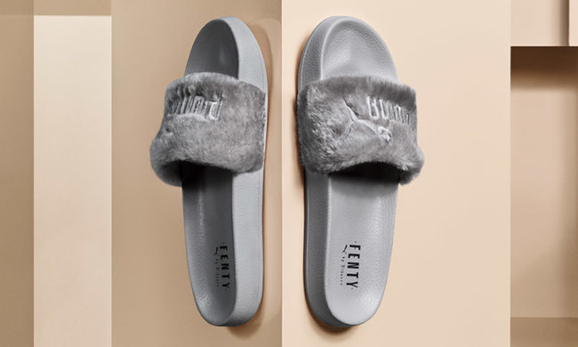 furry footwear Fenty for Puma Summer 2017