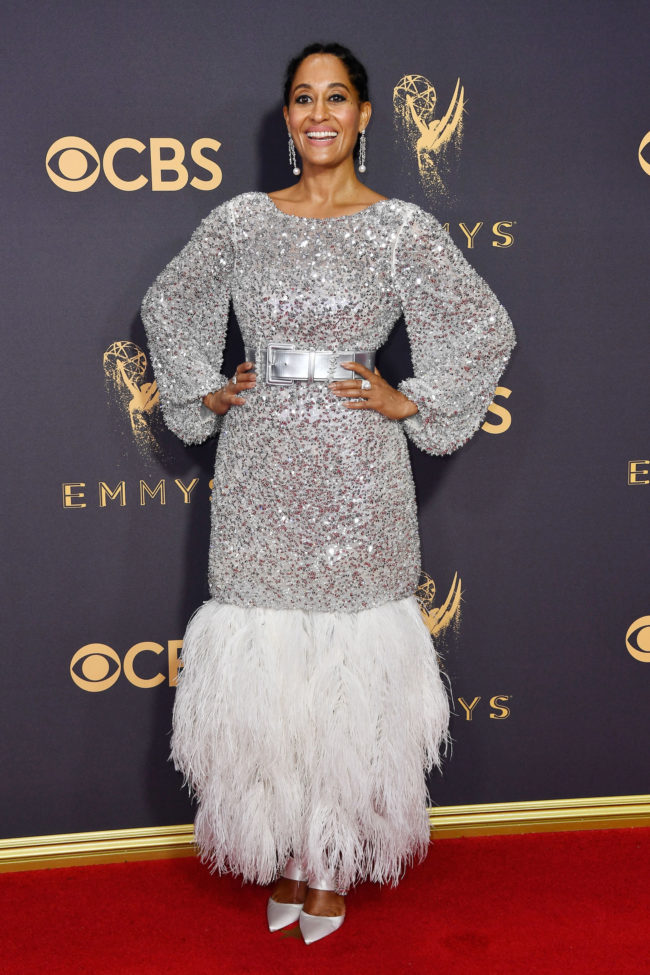 Tracee Ellis Ross in Chanel Haute Couture at the 2017 Emmy Awards