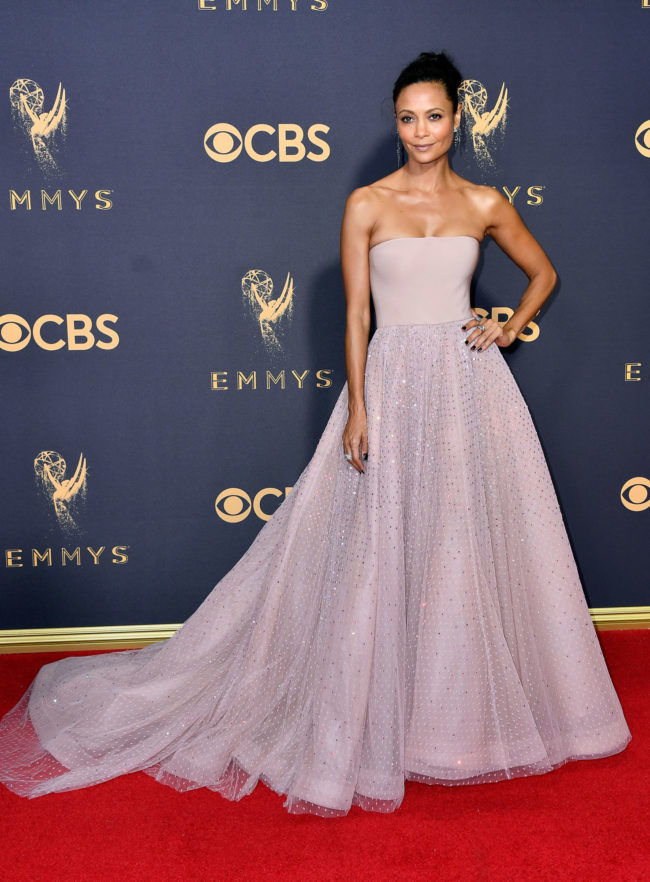 Thandie Newton at the 2017 Emmy Awards