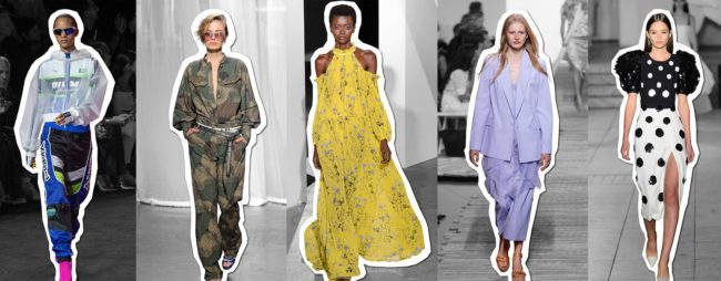 Trends from New York Fashion Week Spring/ Summer 2018
