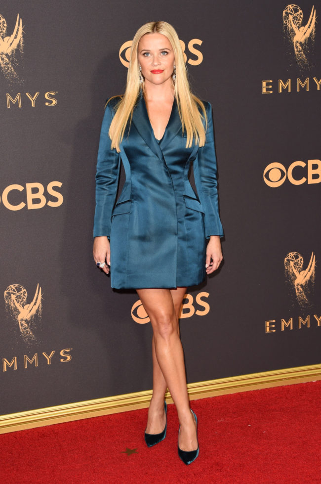 Reese Witherspoon at the 2017 Emmy Awards