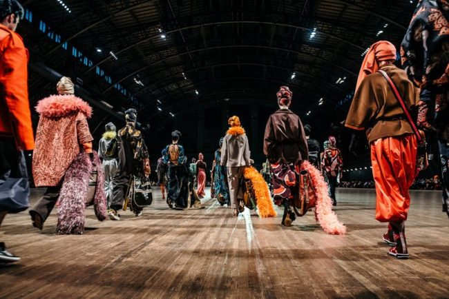 finale of Marc Jacobs's spring/ summer 2018 show