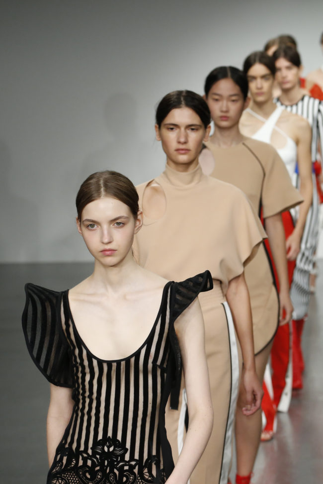 David Koma RTW London Spring Summer 2018