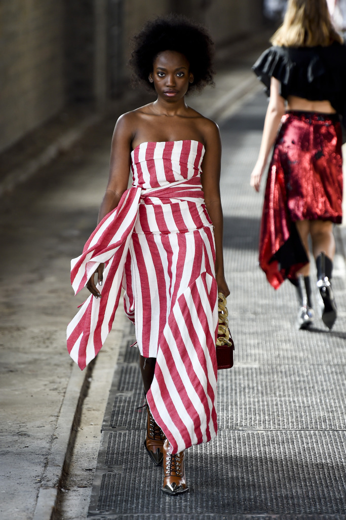 Marques'Almeida RTW London Spring Summer 2018
