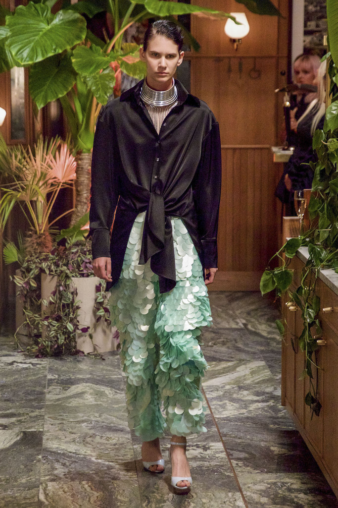 Osman Presentation RTW London Spring Summer 2018