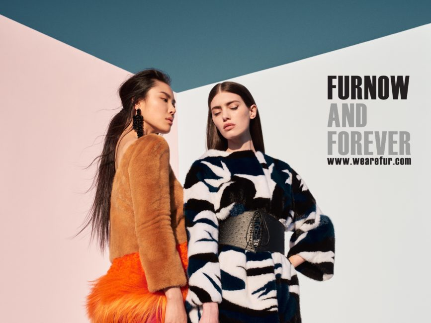 luxury fur fashion trends 2017 IFF campaign