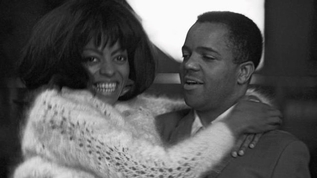 Berry Gordy with Diana Ross in London, 1965