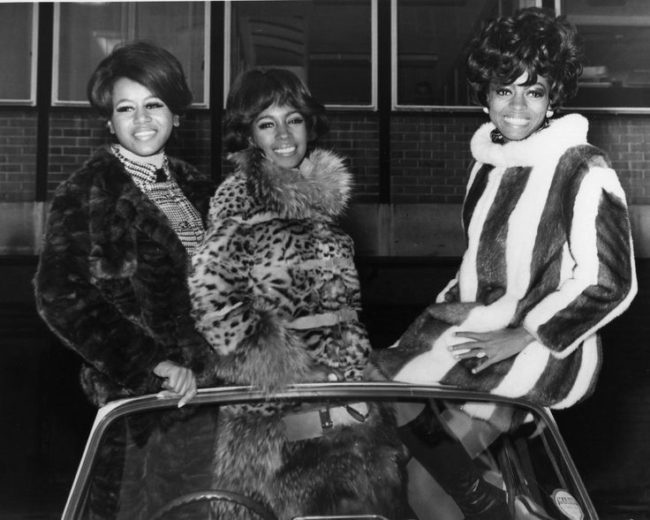 The Supremes- the Supremes -- Diana Ross, Mary Wilson, and Florence Ballard -- met in the late '50s