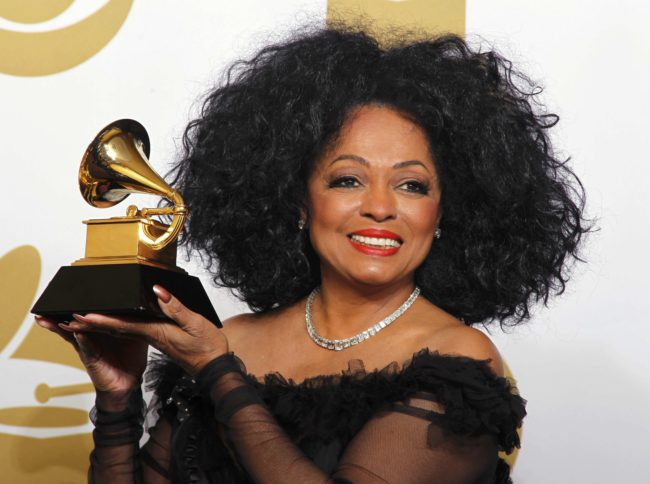 Diana Ross at the 54th Annual Grammy Awards Press Room at the Staples Center in Los Angeles, California, Sunday, February 12, 2012.
