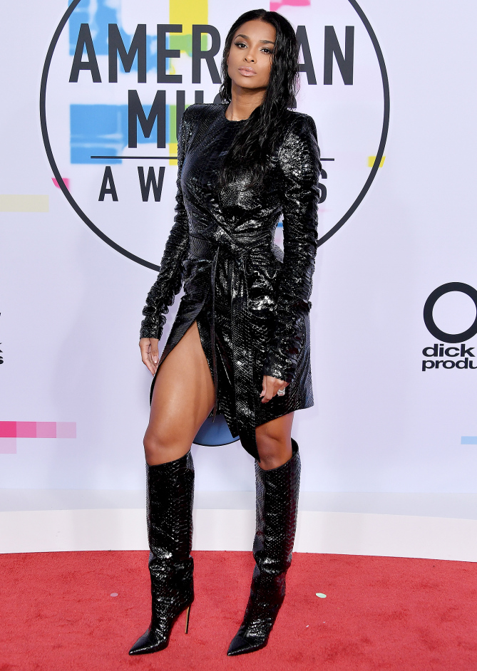 Ciara went rogue in her Matrix inspired Alexandre Vauthier Haute Couture dress