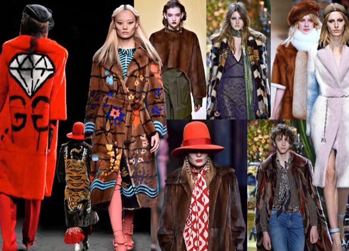 Saga Fur Lookbook from Fall 2017 FurNow 2017 Campaign