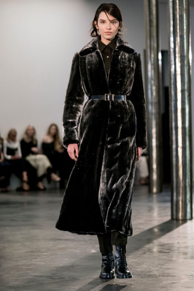 The Row Fall 2017 mink