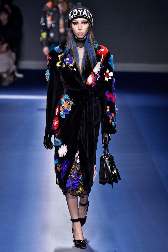 Versace Fall 2017 mink