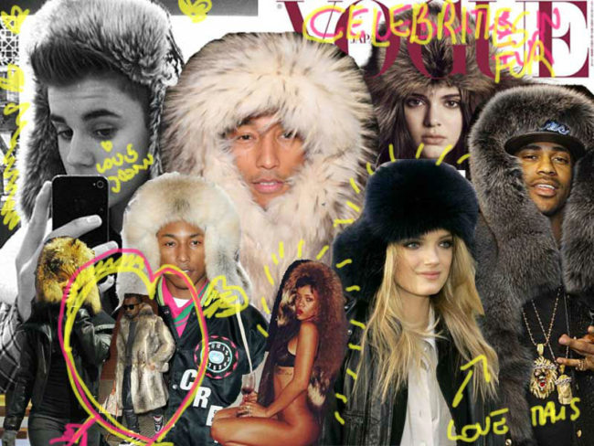 Celebrities of all ages have been at the forefront of the love affair with fur