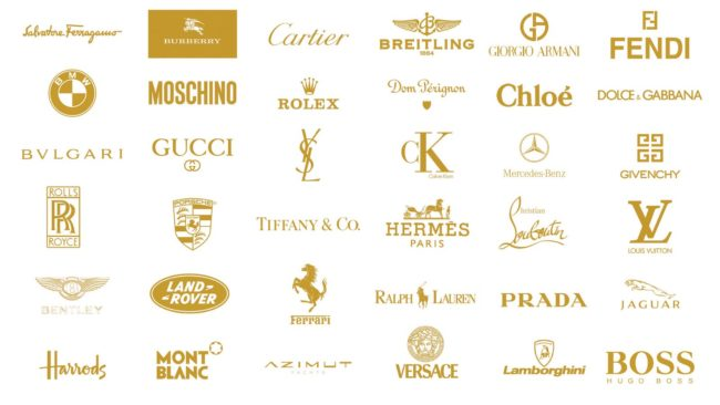 top luxury fashion ad lifestyle labels