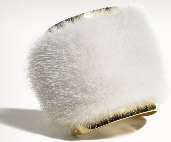 Fur cuff bracelet the perfect stocking stuffers