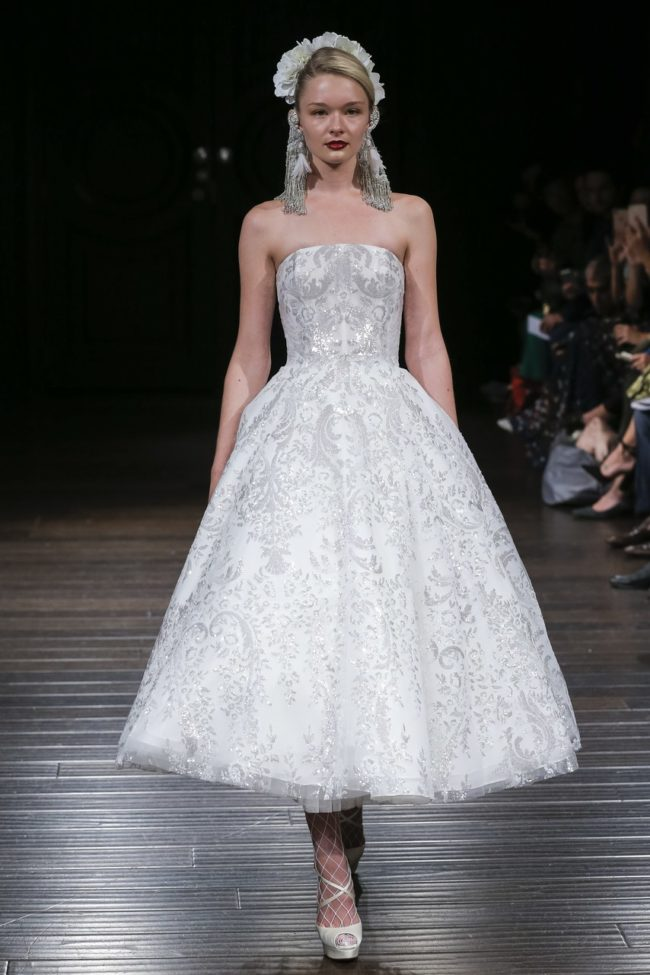 Naeem Khan Fall 2018 wedding fashion trends