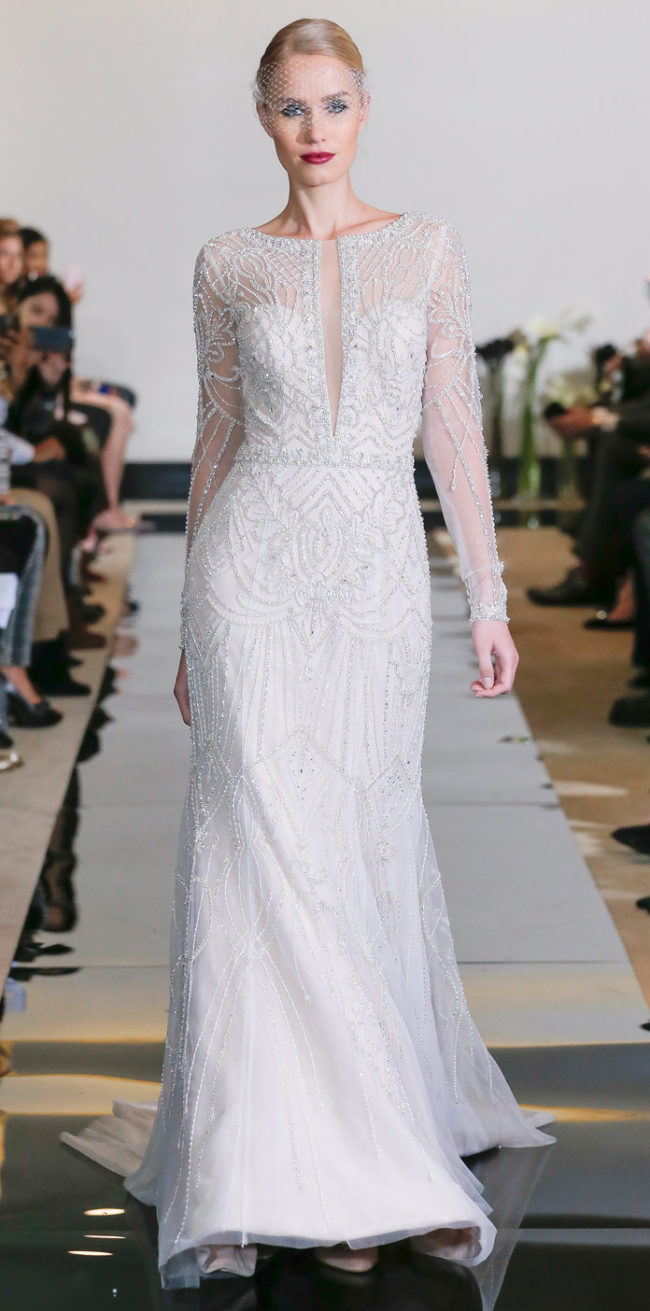 Justin Alexander Spring 2018 wedding fashion trends