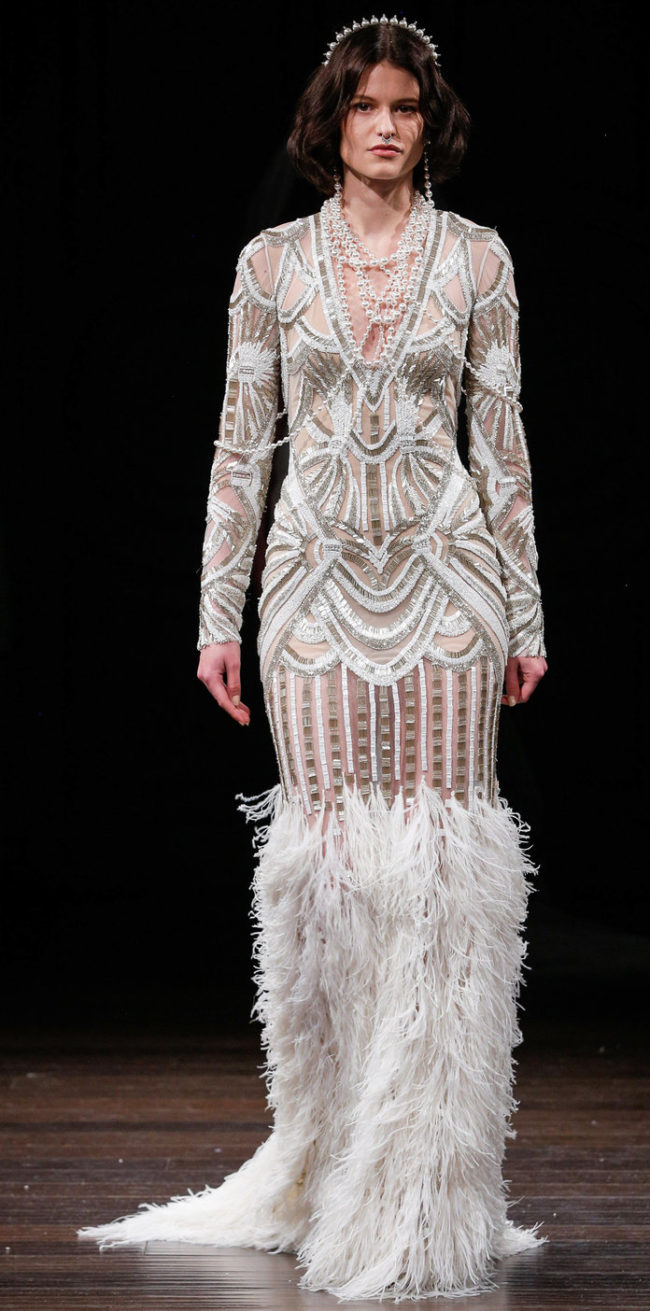 Naeem Khan Spring 2018 wedding fashion trends