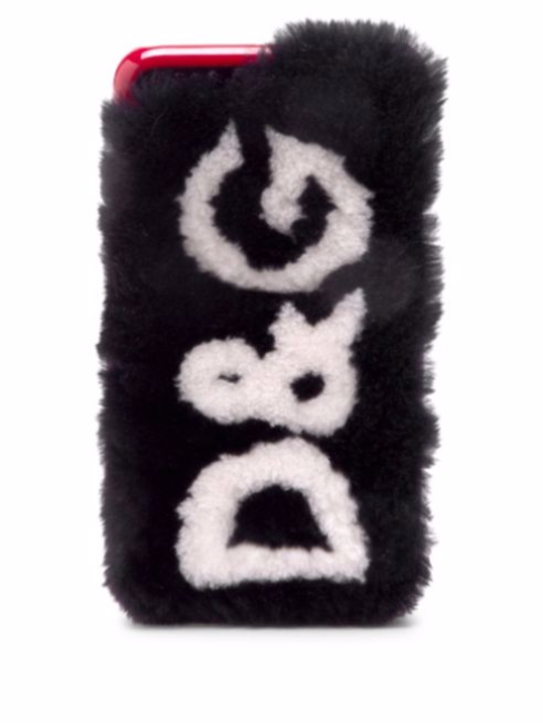 Dolce & Gabbana iPhone 7/8 Plus Fur Logo Case stocking stuffers