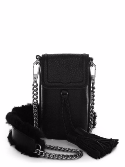 Isobel Chain & Fur Strap Phone Case by Rebecca Minkoff stocking stuffers