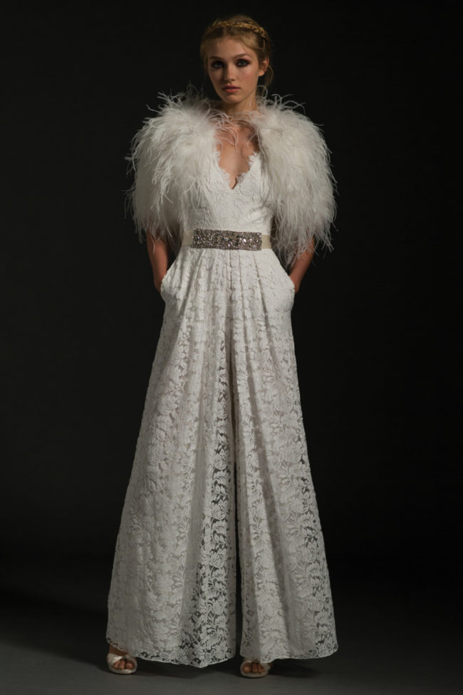 Temperley London Fall 2017 Noemia Jumpsuit wedding fashion trends