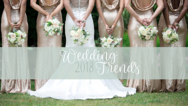 wedding fashion trends