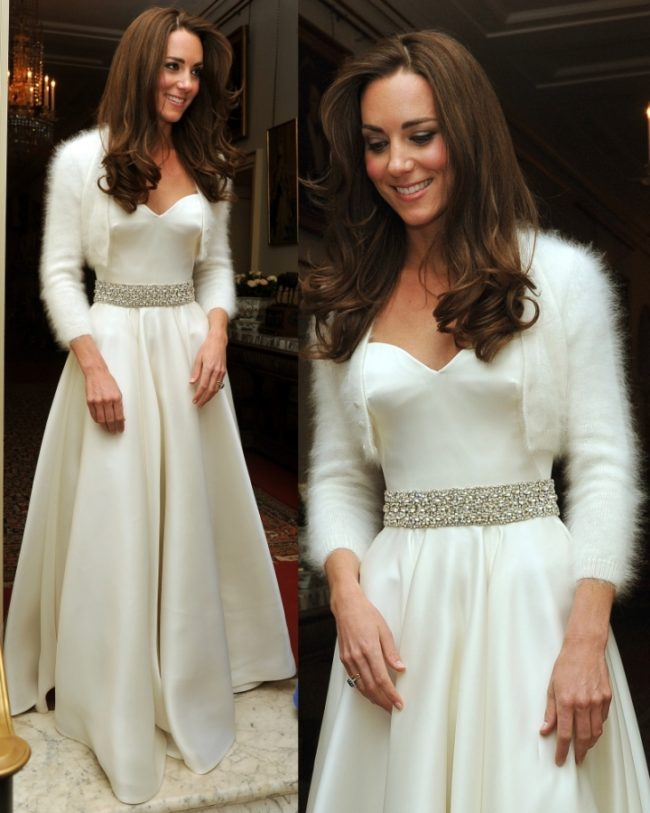 Kate Middleton's Reception Gown wedding trends