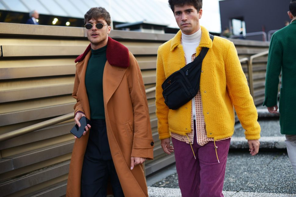 As the menswear fall 2018 collections continued to march down the runways of London we are beginning to see trends take shape.